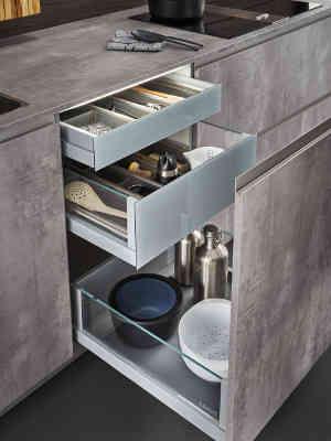 Leicht Küchenplaner leicht der wohnraum küche variabel in maß und material