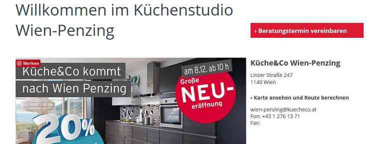 k che co startet mit drittem store in wien das b2b magazin f r die. Black Bedroom Furniture Sets. Home Design Ideas