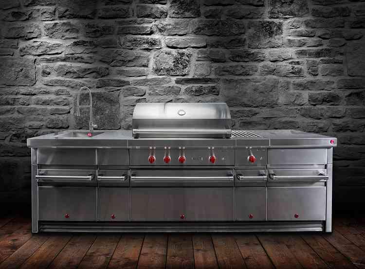Outdoor Küche Edelstahl : Made of steel wolfs outdoor küche aus edelstahl wohninsider at