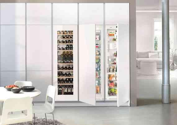 Side By Side Einbau Kühlschrank Liebherr : Liebherr gibt sich innovativ und digital auf der